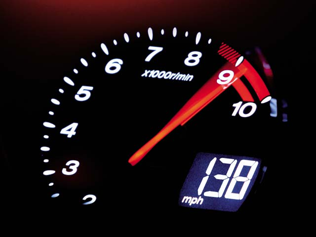 redline tachometer