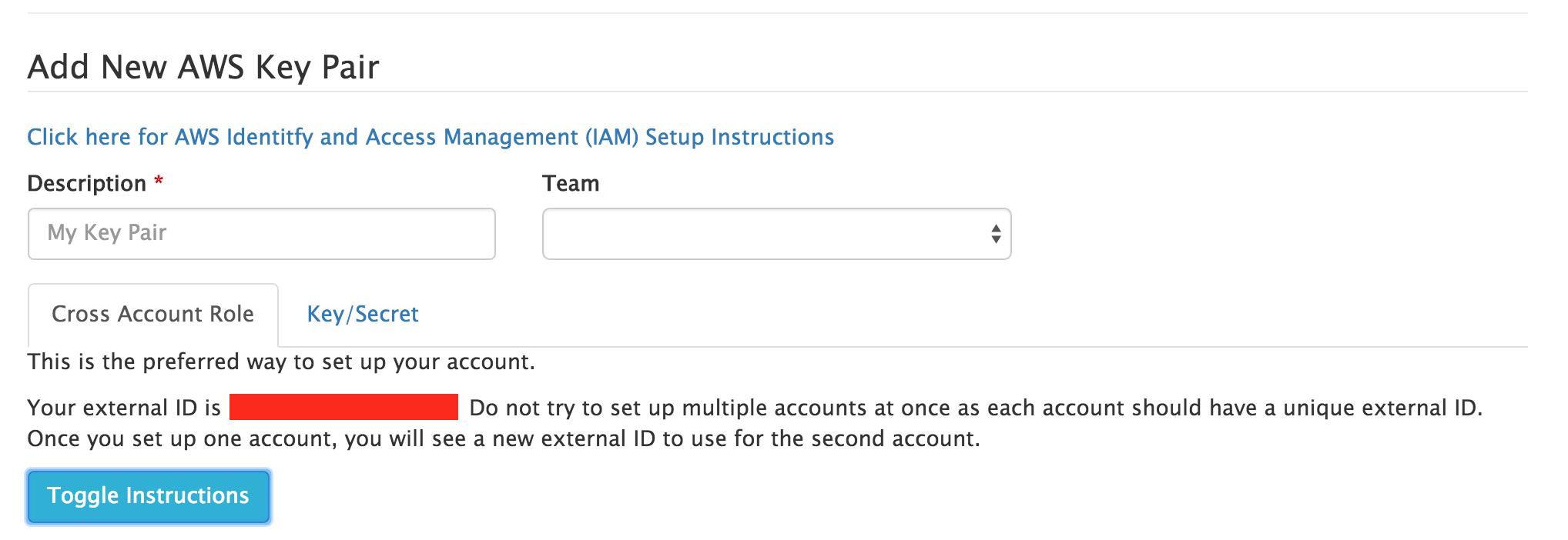 AWS Identify and Access Management (IAM) Setup Instructions