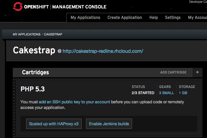 RedLine OpenShift Load Testing