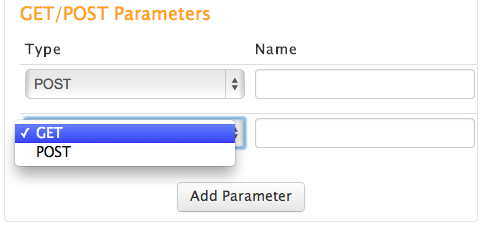 Get and Post Parameters