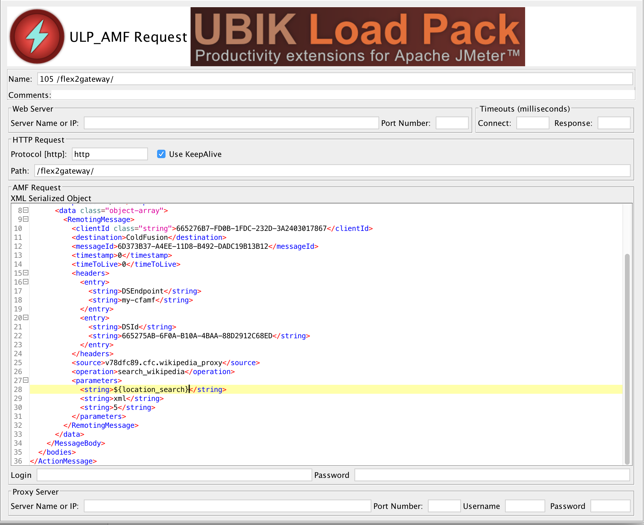 Jmeter flex tutorial with ubikloadpack redline13 screen shot 2015 11 13 at 50237 pm baditri Gallery