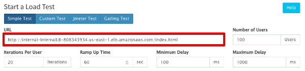 RL13 Test URL