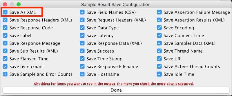 JMeter Capturing Full Output - RedLine13 JMeter Capturing Full Output