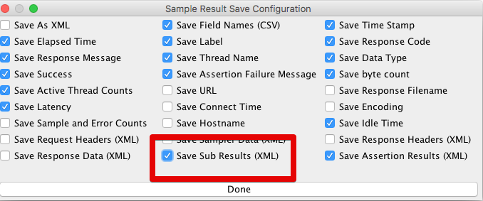 Save Sub Results with CSV