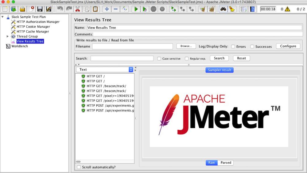 Jmeter 3.0