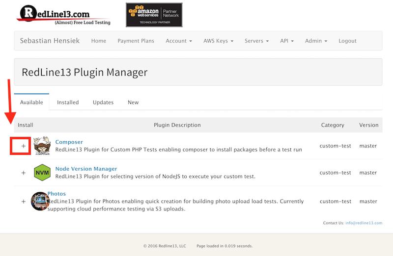 RedLine13 Plugin Manager
