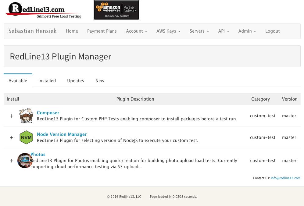 RedLine13-install-plugins