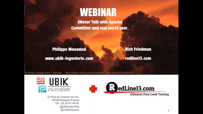 JMeter Webinar and Talk With Apache Comitter