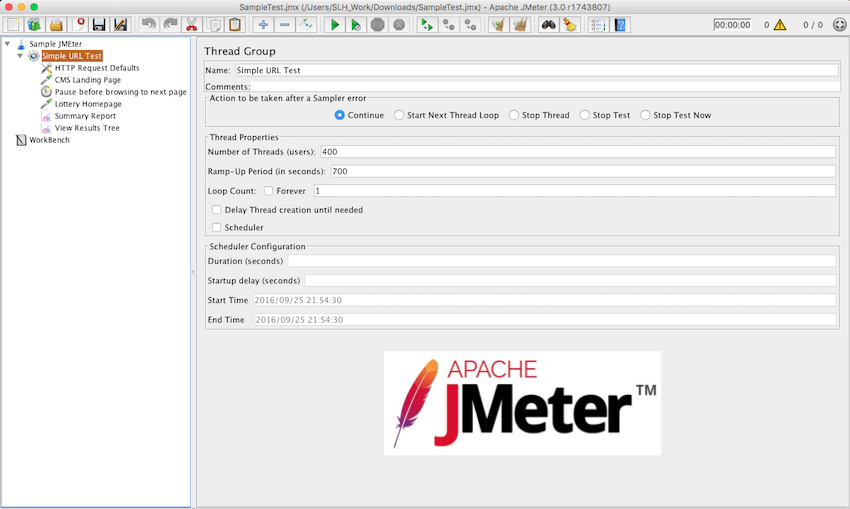 JMeter Tips for optimizing test plan RedLine13