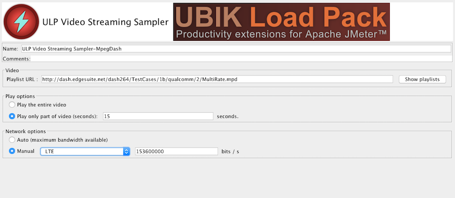 Ubik Load Pack Video Steaming Plugin