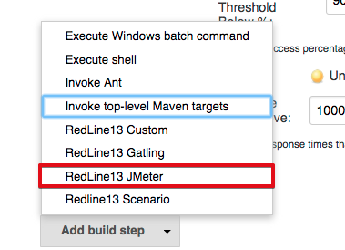 Jenkins Plugin 2 1 Updates - RedLine13