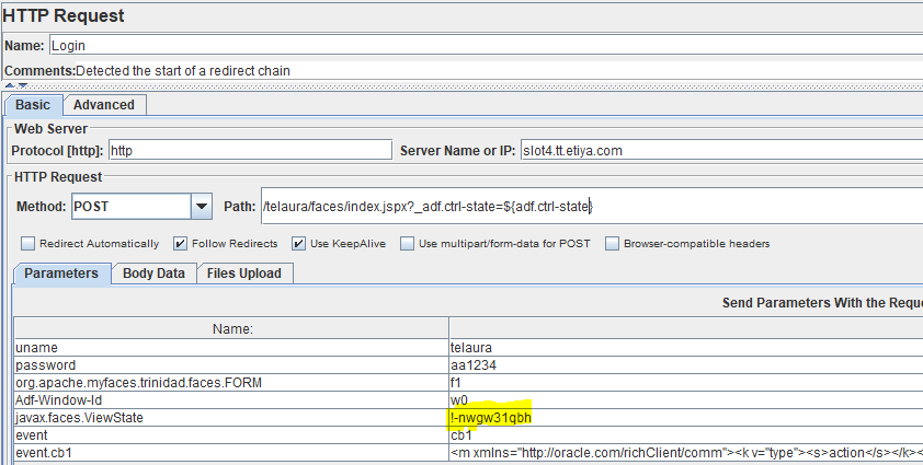 Oracle ADF Load Test with JMeter and Redline13