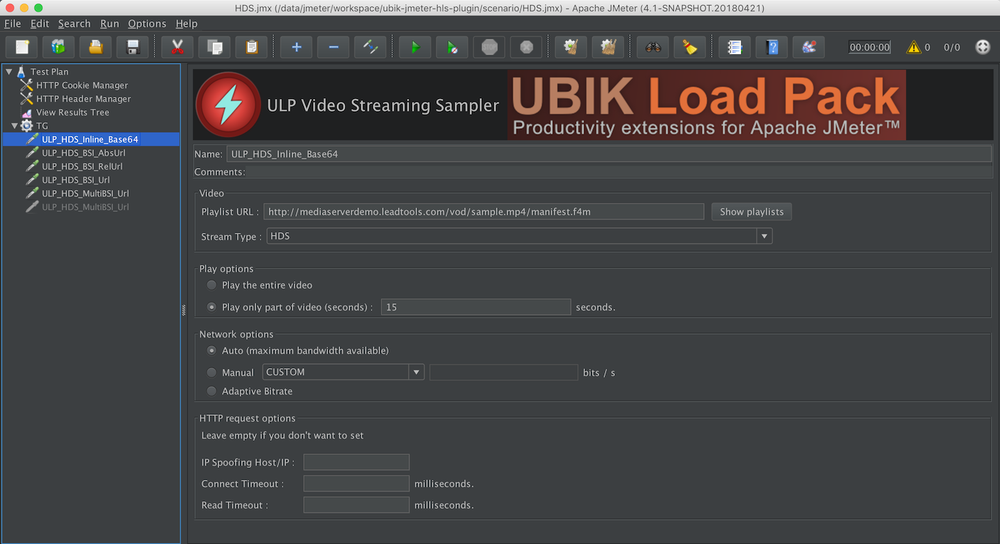UBIK Video Streaming Plugin