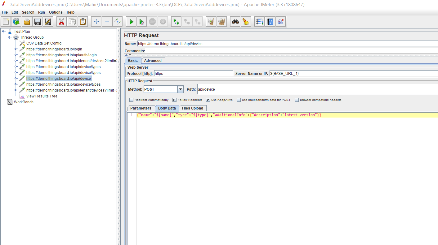 Data Driven Testing with JMeter - RedLine13 Data Driven Testing