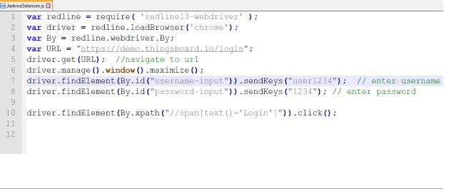 simple login Selenium script