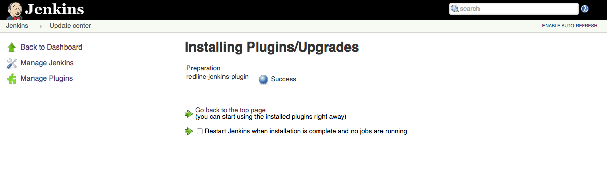 Jenkins Plugin Installed to Load Test your Project Continuously with Jenkins