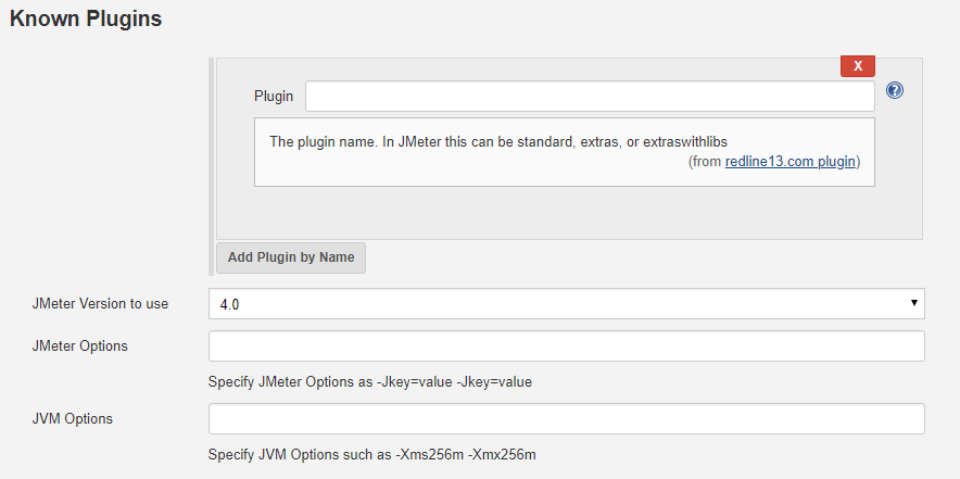 Plugins and Test Types with Jenkins and RedLine13