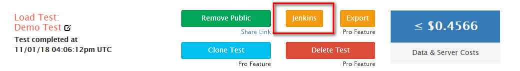 Templates and Test Types with Jenkins and RedLine13