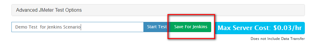 Save and Test Types with Jenkins and RedLine13