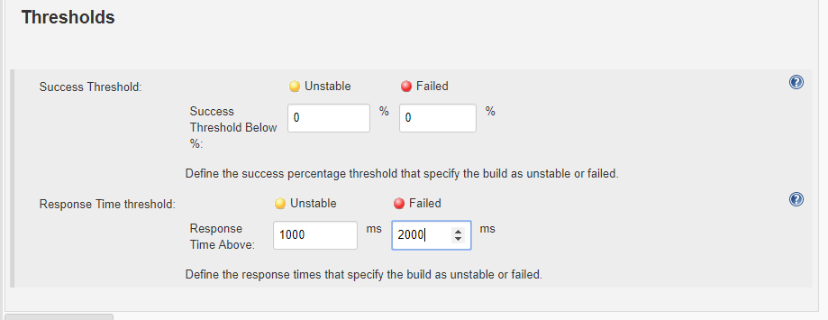 Thresholds and Test Types with Jenkins and RedLine13