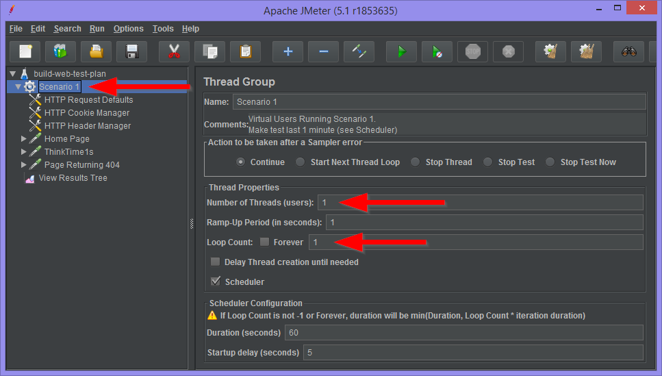 Thread Group and the JMeter Plugin Parallel Controller