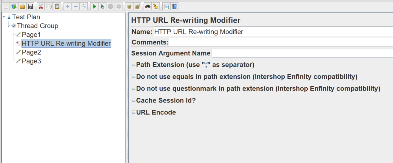 Move the HTTP URL Re-writing Modifier