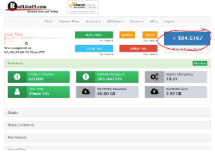 Keep an eye on your AWS Data Costs when load testing