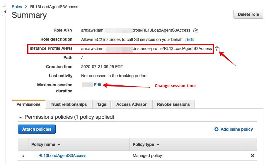 EC2 IAM Instance Profile