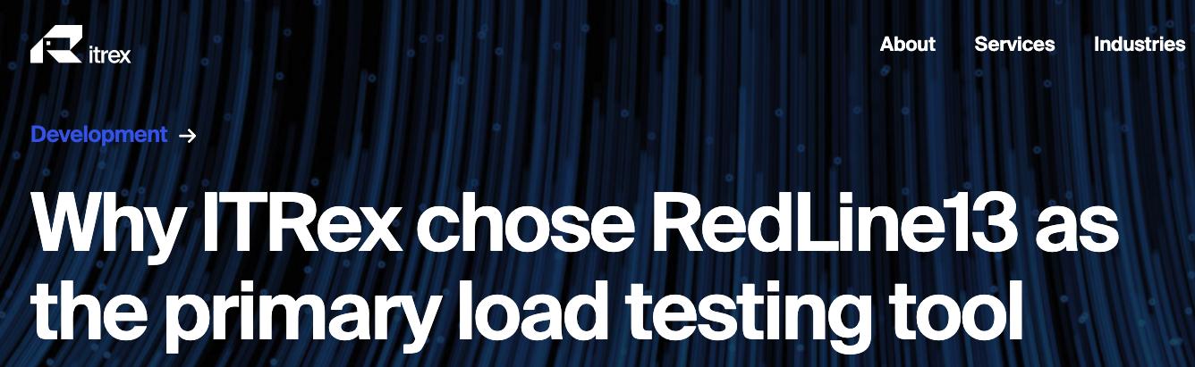 ITRex Chose RedLine13